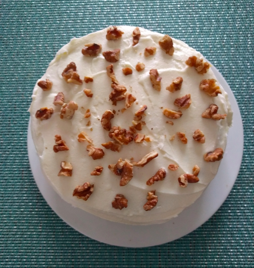A Friend's B-Day: Carrot Cake
